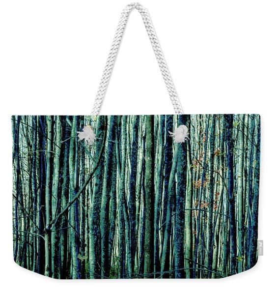 Treez Cyan Weekender Tote Bag