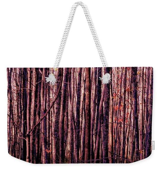 Treez Red Weekender Tote Bag