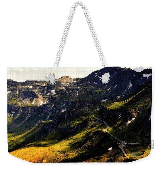 Trekking Thru Austria Weekender Tote Bag