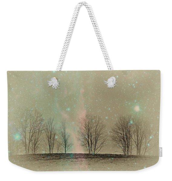 Tress In Starlight Weekender Tote Bag