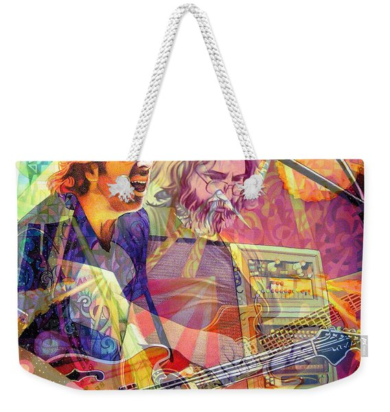 Trey Channeling Cosmic Jerry Weekender Tote Bag