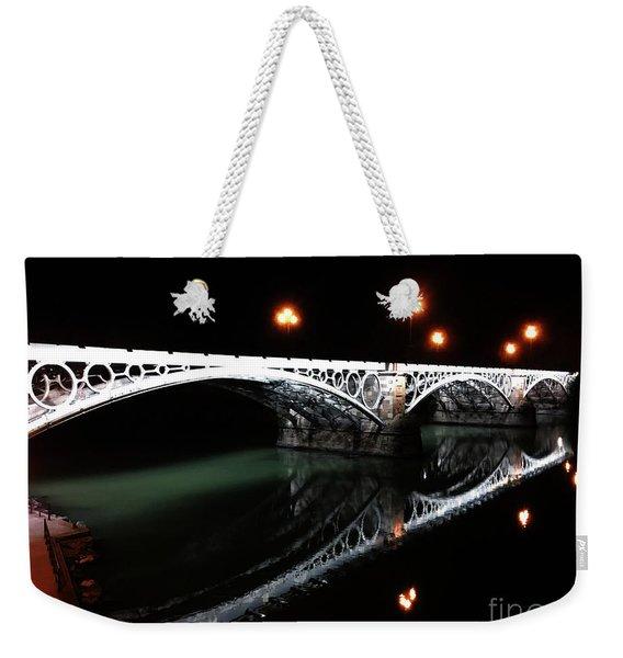 Triana Bridge Weekender Tote Bag