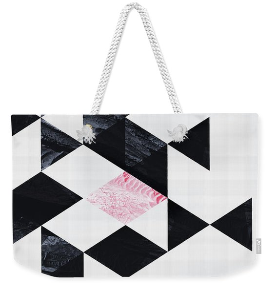 Triangle Geometry Weekender Tote Bag