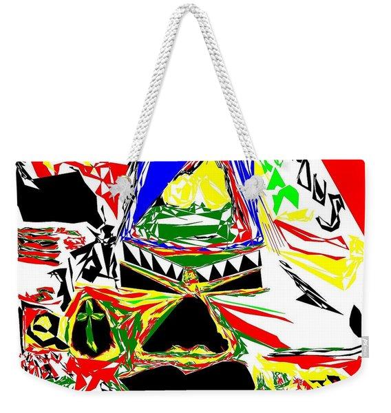Tribal Party Weekender Tote Bag