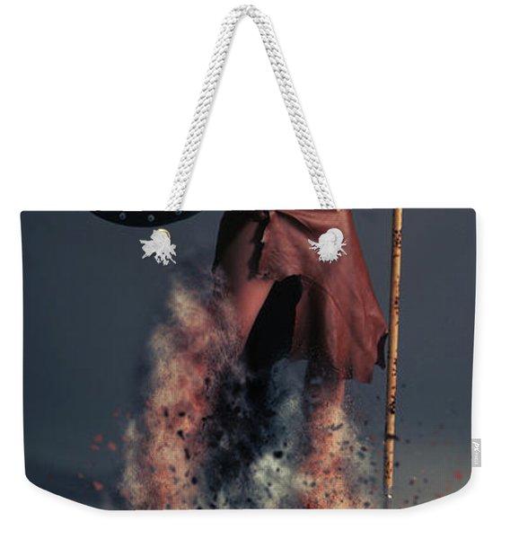 Tribal Warrior Weekender Tote Bag