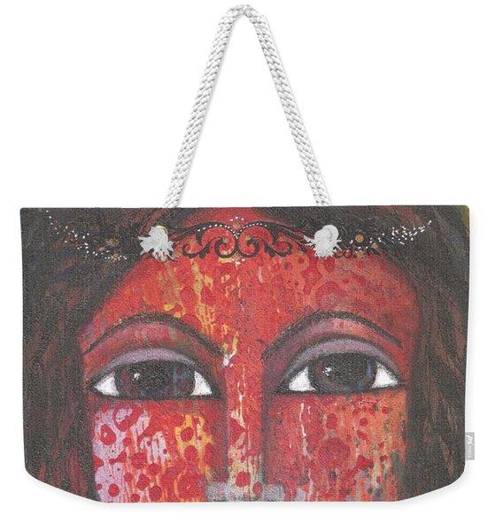 Tribal Woman Weekender Tote Bag