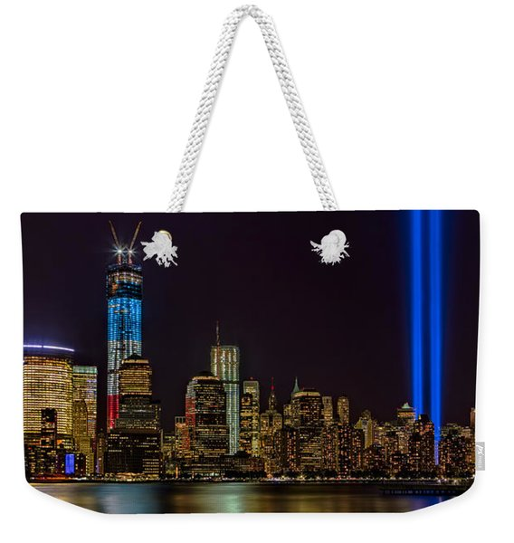 Tribute In Lights Memorial Weekender Tote Bag