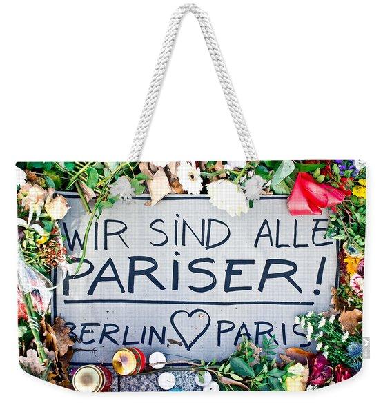 Tributes Weekender Tote Bag