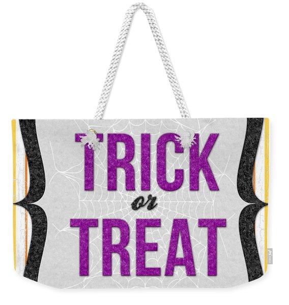 Trick Or Treat- Art By Linda Woods Weekender Tote Bag