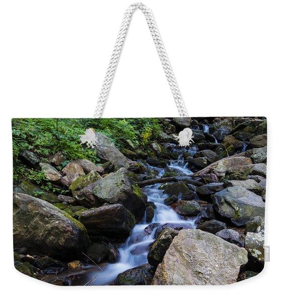 Trickling Mountain Brook Weekender Tote Bag