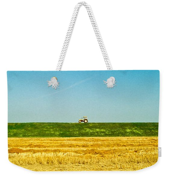 Tricolor With Tractor Weekender Tote Bag