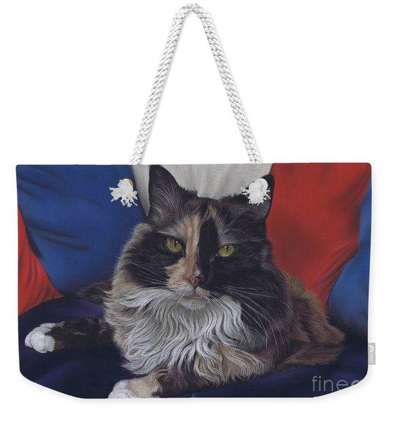 Tricolore Weekender Tote Bag