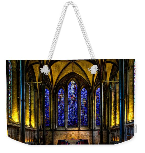 Trinity Chapel Salisbury Cathedral Weekender Tote Bag