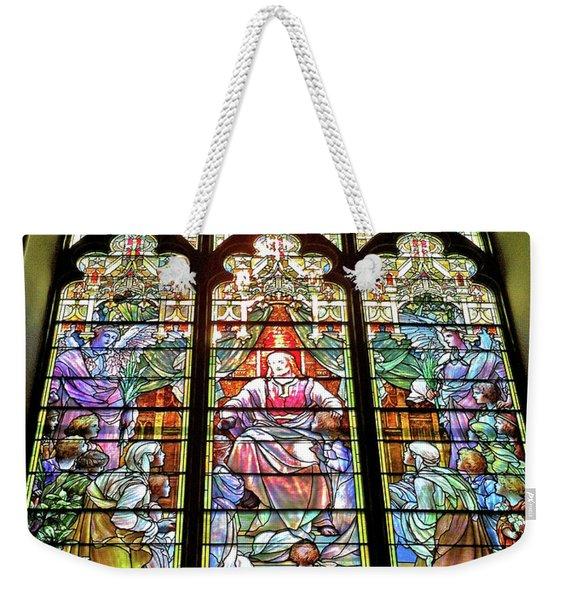Trinity Church Galveston Weekender Tote Bag