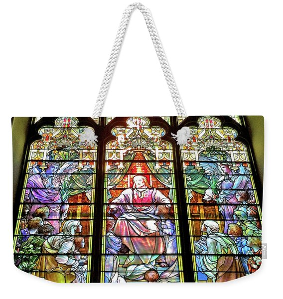 Trinity Church Galveston Weekender Tote Bag