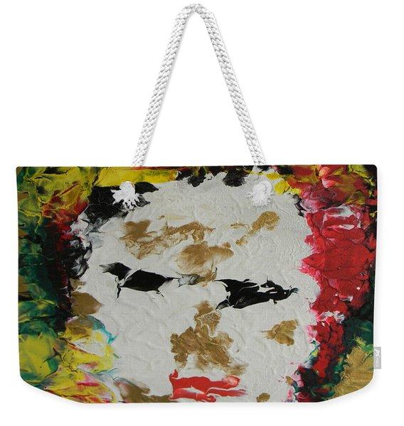 Trinity Panel Two Weekender Tote Bag