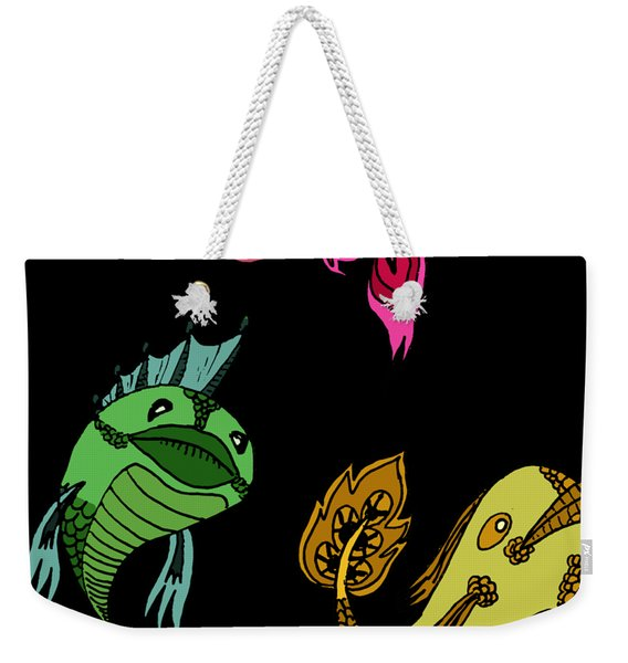 Trio Fish Weekender Tote Bag