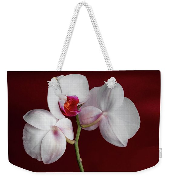 Trio Of Orchids Weekender Tote Bag