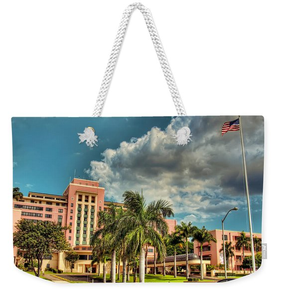 Tripler Card Sample Weekender Tote Bag