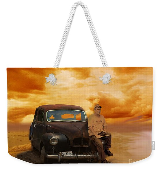 Trippin' With My '48 Austin A40 Weekender Tote Bag