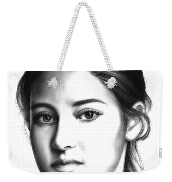 Tris Weekender Tote Bag