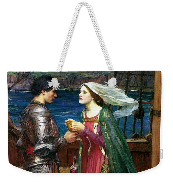 Tristan And Isolde With The Potion Weekender Tote Bag