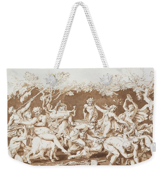 Triumph Of Pan Weekender Tote Bag