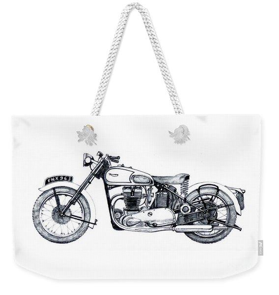 Triumph Tiger 100 Weekender Tote Bag