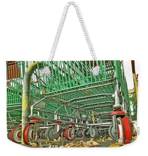 Trolley Convoy Weekender Tote Bag