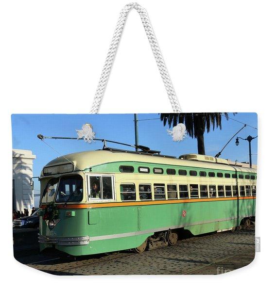 Trolley Number 1058 Weekender Tote Bag