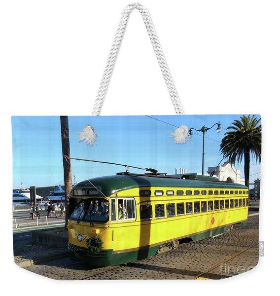 Trolley Number 1071 Weekender Tote Bag