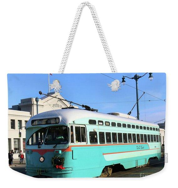 Trolley Number 1076 Weekender Tote Bag