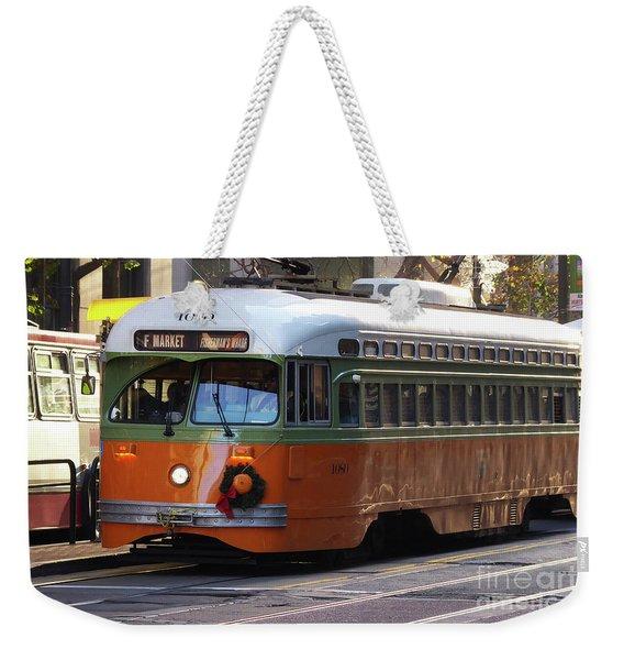 Trolley Number 1080 Weekender Tote Bag