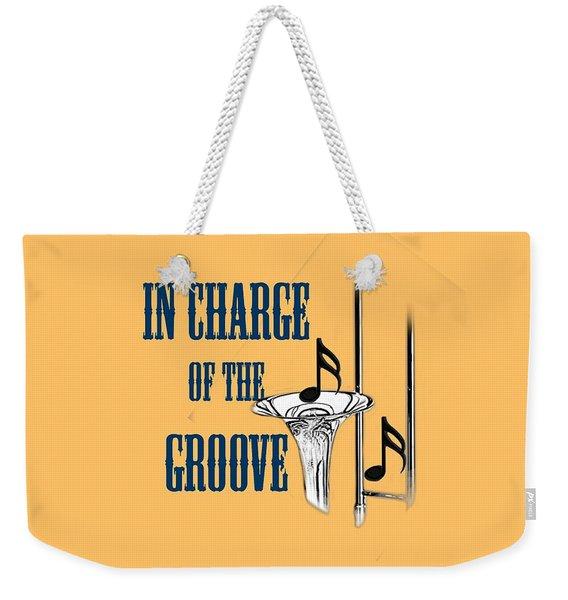 Trombones In Charge Of The Groove 5533.02 Weekender Tote Bag
