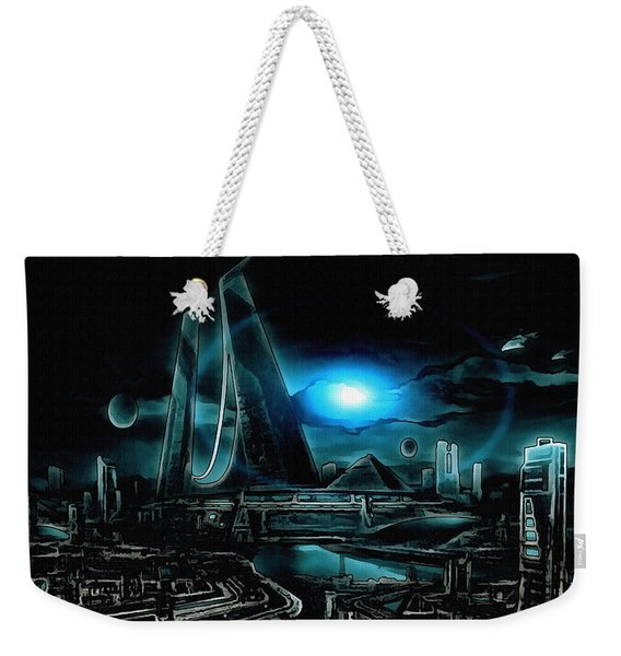 Tron Revisited Weekender Tote Bag