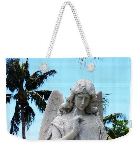 Tropical Angel With Tear Weekender Tote Bag