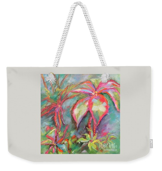 Tropical Beauty Weekender Tote Bag