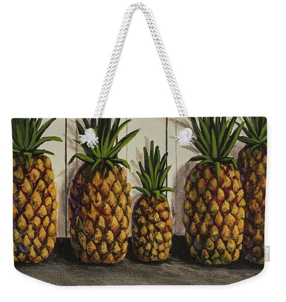 Tropical Bounty Weekender Tote Bag