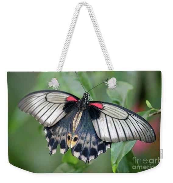 Tropical Butterfly Weekender Tote Bag