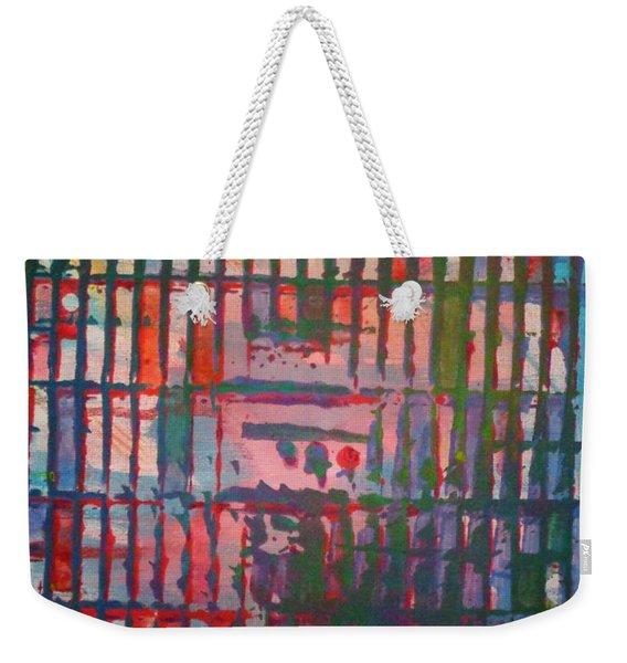 Tropical Weekender Tote Bag