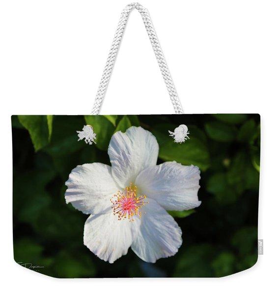 Tropical Flower 2 Weekender Tote Bag