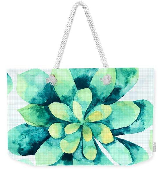 Tropical Flower  Weekender Tote Bag