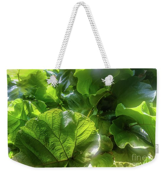 Tropical Forest Weekender Tote Bag