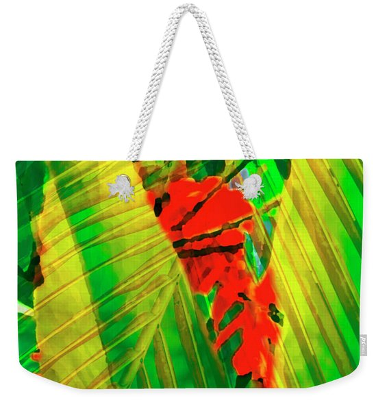 Tropical Fusion Weekender Tote Bag