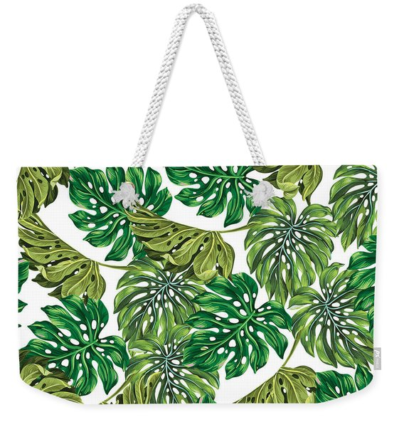 Tropical Haven  Weekender Tote Bag