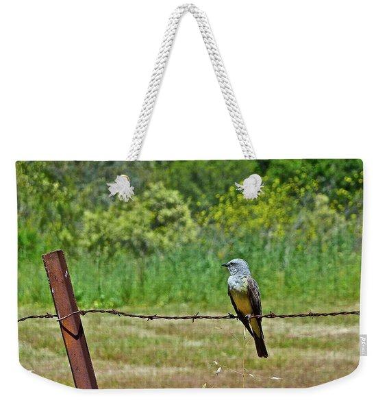Tropical Kingbird Weekender Tote Bag