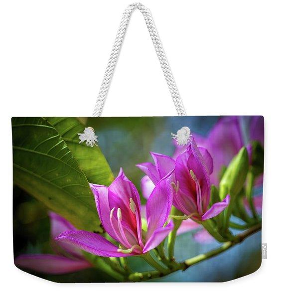 Tropical Line Dance Weekender Tote Bag