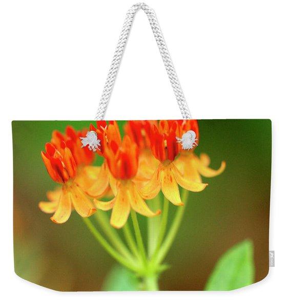 Tropical Milkweed Weekender Tote Bag