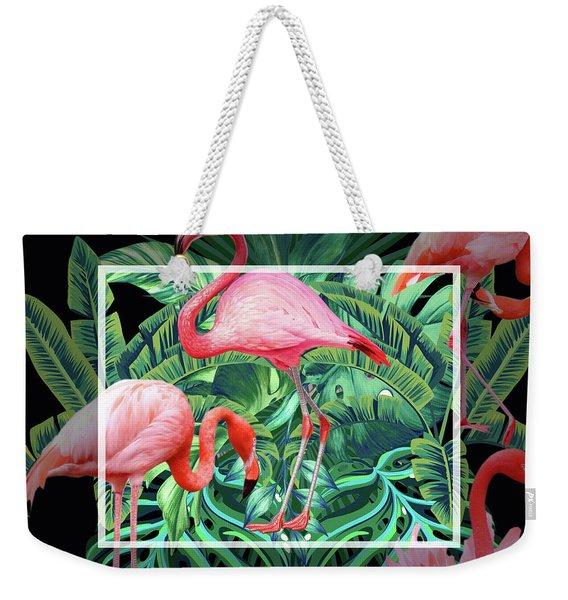 Tropical Mood  Weekender Tote Bag