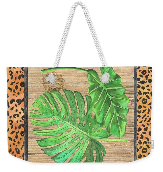 Tropical Palms 2 Weekender Tote Bag